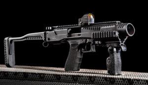 Élménylövészet KPOS Glock típusú fegyverrel