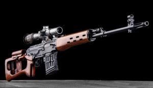 Élménylövészet Steyr SVD Dragunov TULA típusú fegyverrel