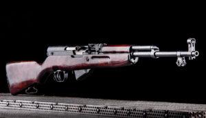 Élménylövészet Simonov SKS 45 Tula típusú fegyverrel