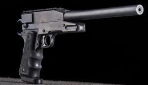 Lövészet Tanfoglio Raptor típusú gyegyverrel Budapesten