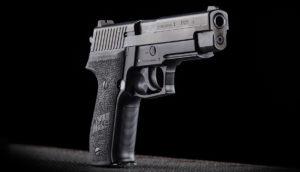 Sigsauer P226 lövészet