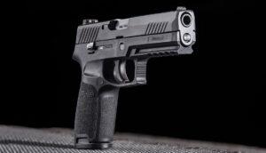 Élménylövészet Sigsauer P320 típusú fegyverrel