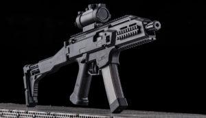 Lövészet CZ Skorpion EVO3 A1 típusú fegyverrel