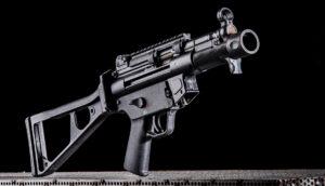 Élménylövészet Hechler Koch SP5K típusú fegyverrel
