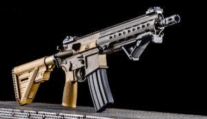 Lövészet Heckler & Kock MR 223 típusú fegyverrel