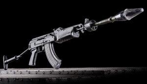 Élménylövészet Kalashnikov AMP 69 típusú fegyverrel