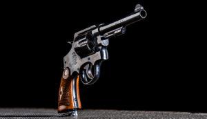 Budapesti lövészet Smith Wesson Model 22-4 típusú fegyverrel