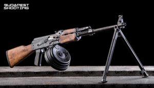Érménylövészet Zastava M72 RPK típusú fegyverrel