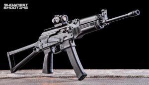Élménylövészet Saiga 9 típusú fegyverrel