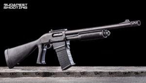 Remington 870 típusú fegyver