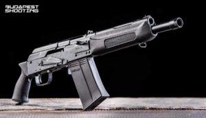 Élménylövészet Saiga 12 típusú fegyverrel